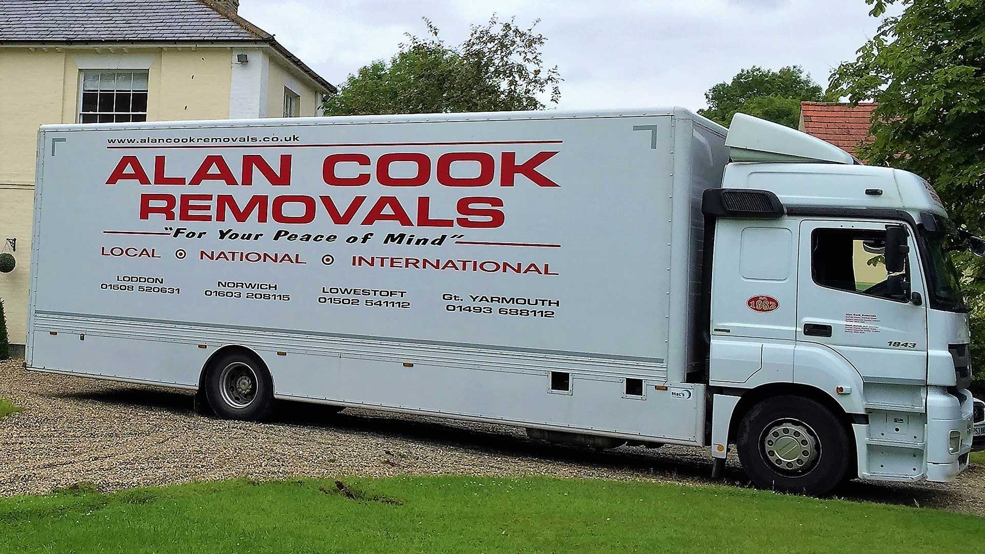 - Alan Cook Removals - Of all the Norwich Removals Companies we pride ourselves in offering the most prfessional, 